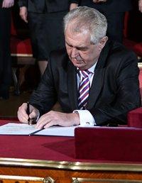 Prezident Miloš Zeman bude hostem sjezdu lidovců